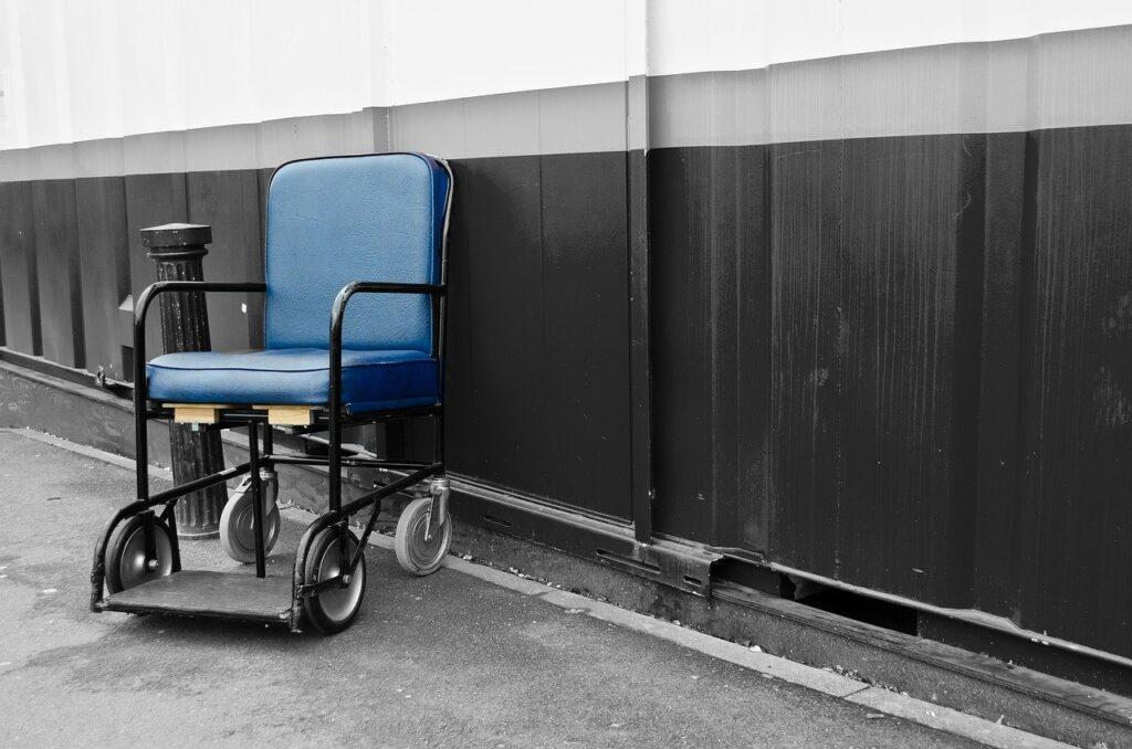 chair, wheelchair, disability